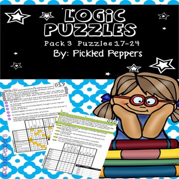Logic Puzzles Math Pack 3