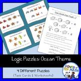 Logic Puzzles {Ocean Themed}