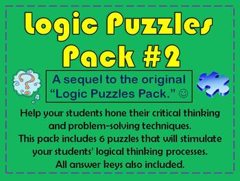 Logic Puzzles Pack #2