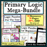 Brain Teasers Logic Puzzles : Primary Mega-Bundle Gifted and Talented