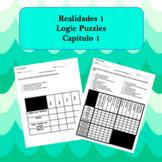 Spanish Logic Puzzles Realidades 1 1A and 1B