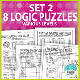 Logic Puzzles: Set 2 for Various Levels