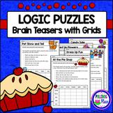Logic Puzzles - Brain Teaser Puzzles with Grids - Set 1