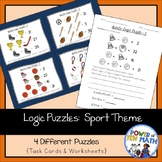 Logic Puzzles {Sport Themed}