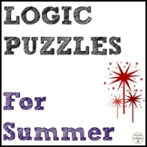 Summer Math Logic Puzzles for Problem Solving