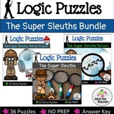 Logic Puzzles: Super Sleuths Bundle