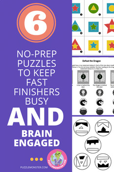 Puzzle Sampler - Bellringer Brain Teasers and Logic Puzzles
