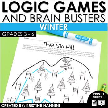 Logic Puzzles - Winter Math - Brain Teasers