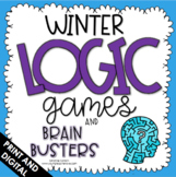 Logic Puzzles - Winter Math - Brain Teasers - Google Slides