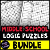 Logic Puzzles for Middle School - BUNDLE