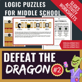 Brain Teasers and Logic Puzzles - Defeat the Dragon #2 MEGA Bundle