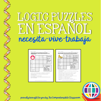 Puzzles: Logic puzzles in S... by The Comprehensible Classroom by ...