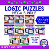 Logic Puzzles with Grids MEGA Bundle Google Classroom Dist