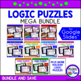 Logic Puzzles with Grids MEGA Bundle Google Classroom Dist