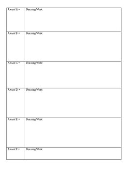 Logic Square Task (Area of Squares Task)