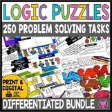 Brain Teasers  and Logic Math BUNDLE