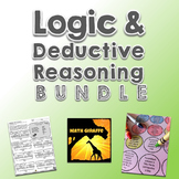 Logic and Deductive Reasoning Activity Bundle