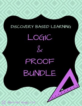 Logic and Proof Bundle through Discovery!