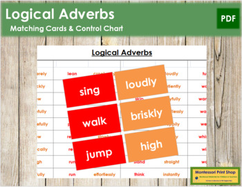 Logical Adverb Cards