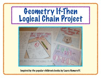 """Logical Chain Story Project (Conditional """"If-Then"""" Statements)"""