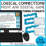 Logical Connections Game | Cause and Effect Compare and Contrast Activity