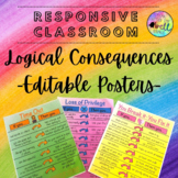Logical Consequence Posters (Responsive Classroom)