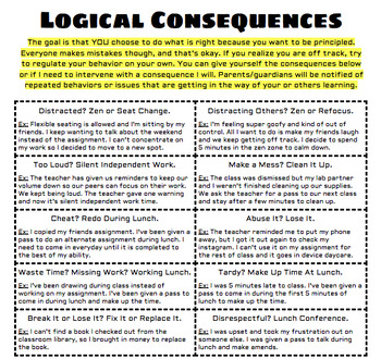 Peachy Logical Consequences Worksheets Teaching Resources Tpt Download Free Architecture Designs Itiscsunscenecom