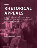 Logical, Emotional, and Ethical Appeals Student Quick Reference Guide