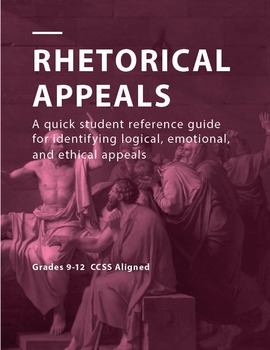 Logical, Emotional, and Ethical Appeals Student Quick Refe