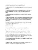 Logical Fallacies (36 definitions/exam)