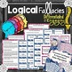 Logical Fallacies Engaging Lessons, Activities, Games for