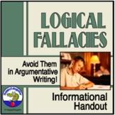 Logical Fallacies Handout