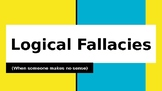 Logical Fallacies Lesson and Guided Notes