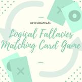 Logical Fallacies Matching Card Game