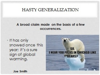 Logical Fallacies Presentations