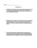 Logical Fallacies Worksheet: Bandwagon, Slippery Slope, Ad