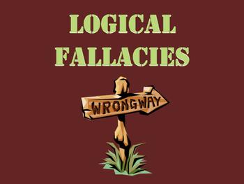 Logical Fallacies and Rhetoric - AP English Language