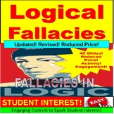 Logical Fallacies and Syllogism : JUMBO PowerPoint