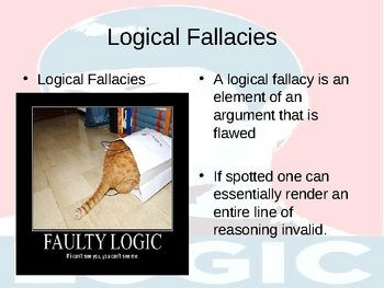 Logical Fallacies and Syllogism: Powerpoint Part I