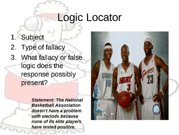 Logical Fallacies and Syllogism: Powerpoint Part II