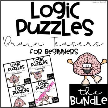 "Logical Reasoning ""Brain Teaser"" Puzzles  * BUNDLE *"