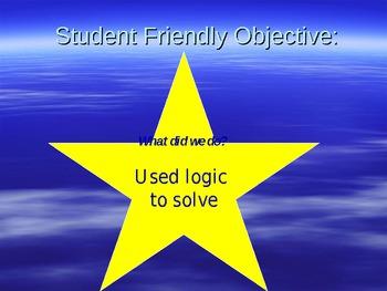 Logical Reasoning Problem Solving