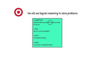 Logical Reasoning to Solve Problems lesson