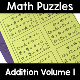 Math Logic Puzzles Addition Volume 1
