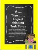 Logical Thinking and Problem Solving Task Cards