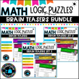 Logical thinking Games- sets 1,2 and 3