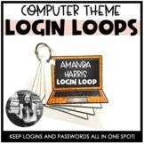 Login Loops - Computers (Editable)