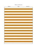 Login and Password Page - Orange