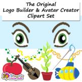 LOGO Builder - Avatar Creator - Clipart Set