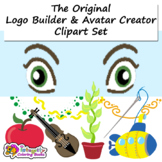 LOGO Builder - Avatar Creator - Clipart Set